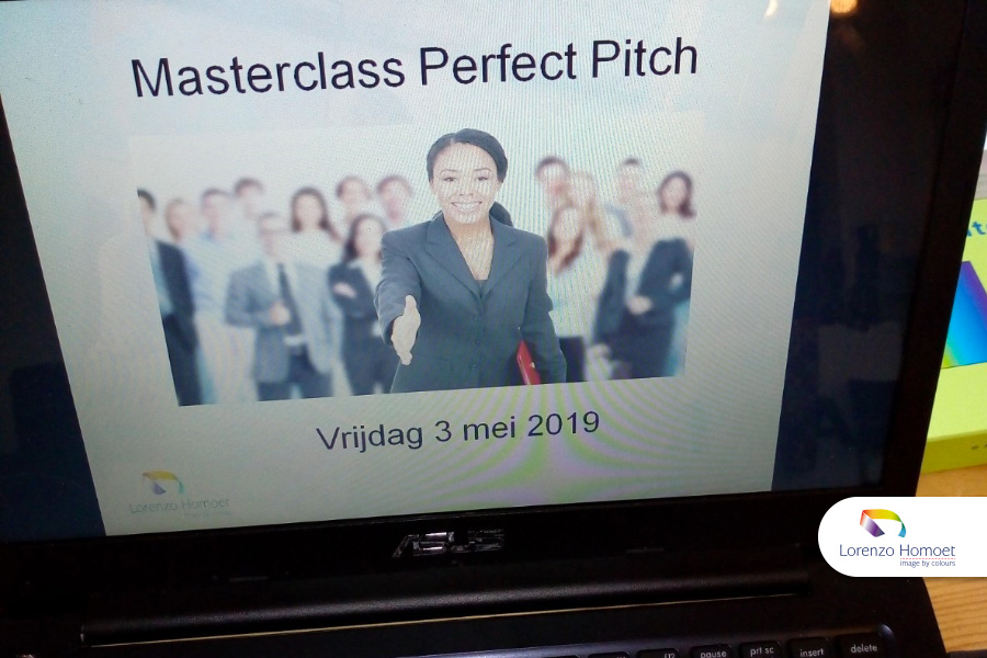 Training Personal Branding/ Perfect Pitch door Lorenzo Homoet van Image by Colours in Amsterdam