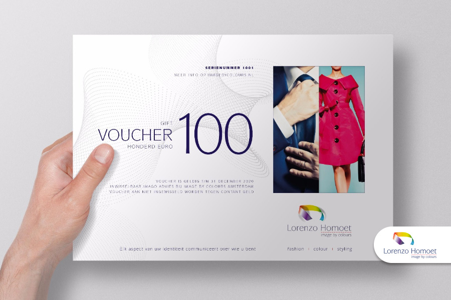 voucher door Lorenzo Homoet van Image by Colours in Amsterdam