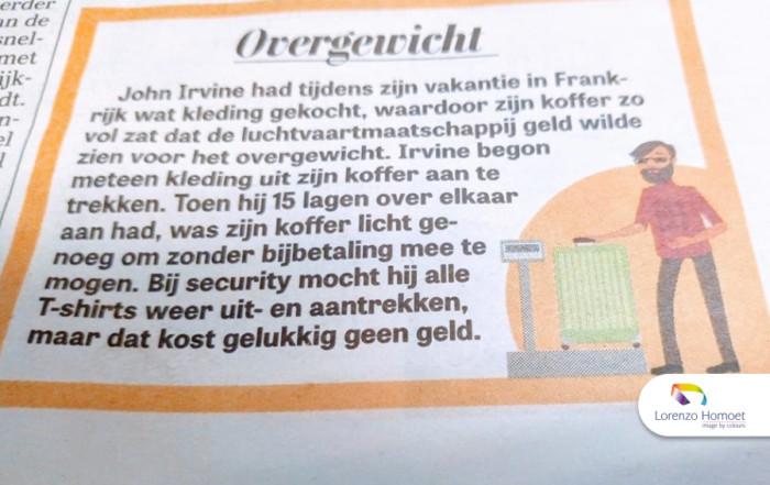Overgewicht door overvracht door Lorenzo Homoet - Image by Colours - Amsterdam